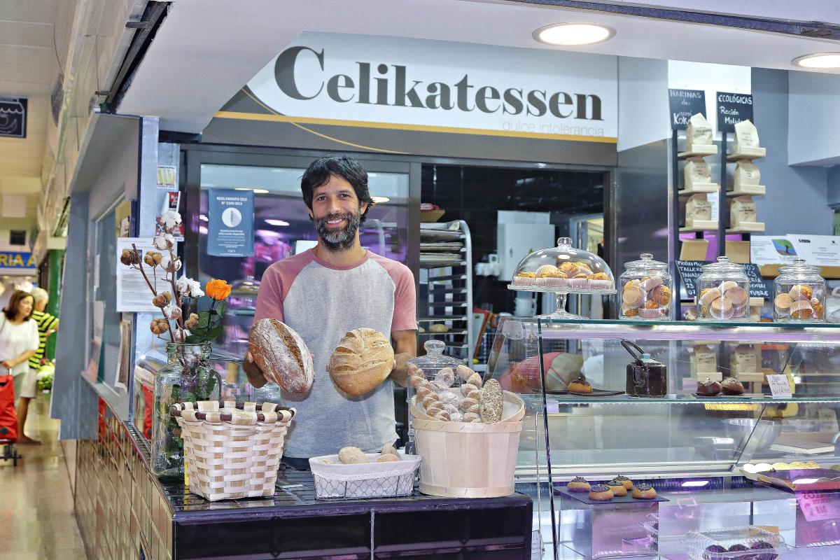 Panaderías celíacas, madrid