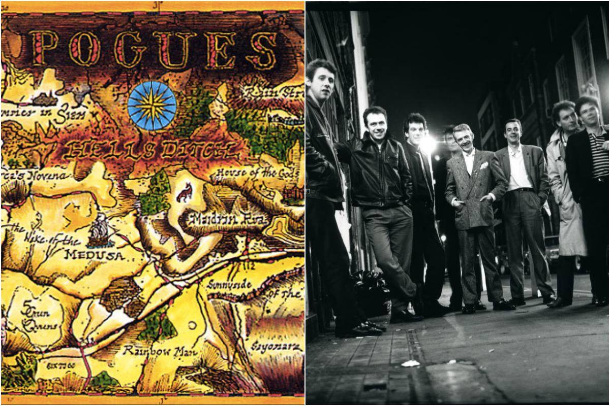 La portada dei disco Pogues y el grupo. Fotos: Facebook