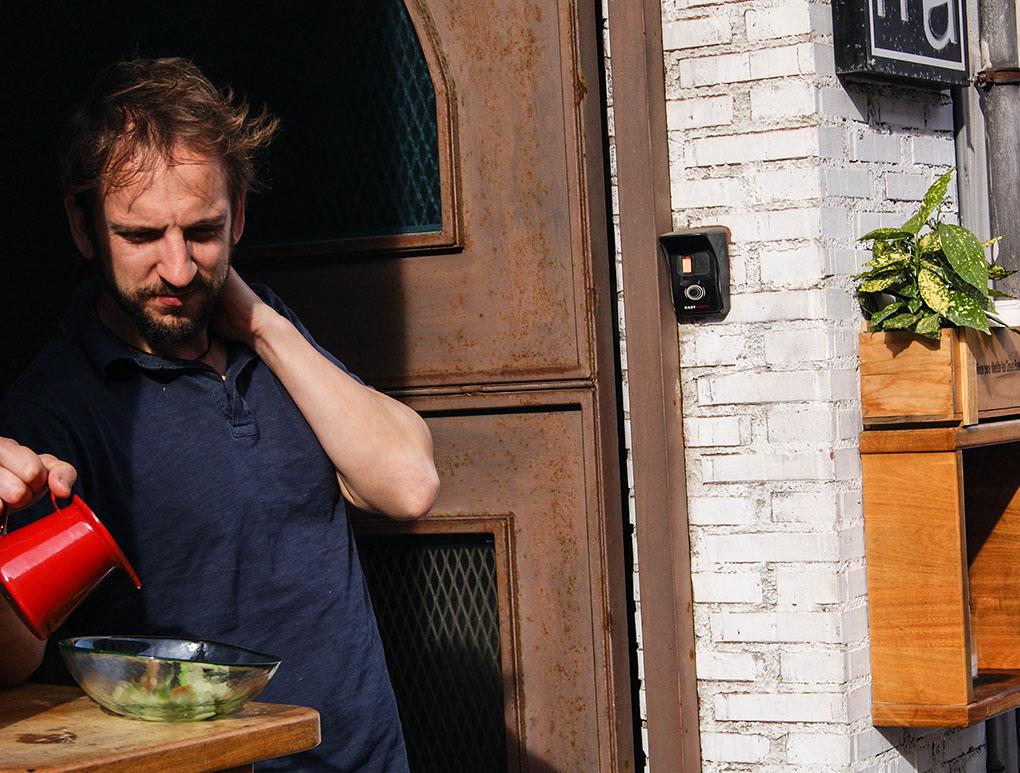 Recetas con orujo. Sopa fría de limoncelo y melón (2). Foto Silvia