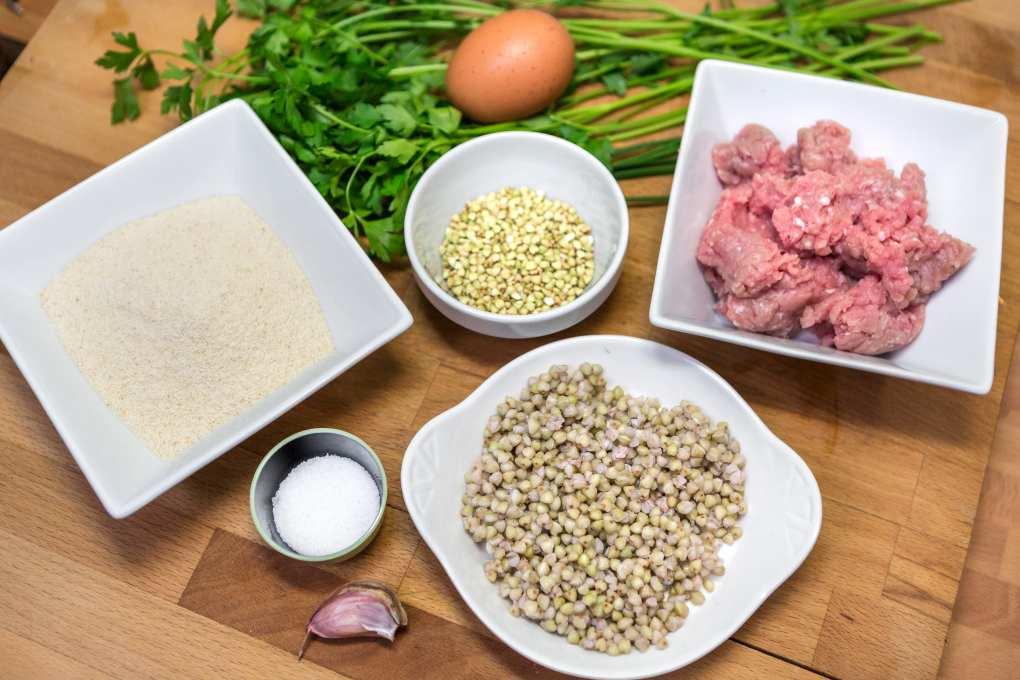 Kotlety, ingredientes