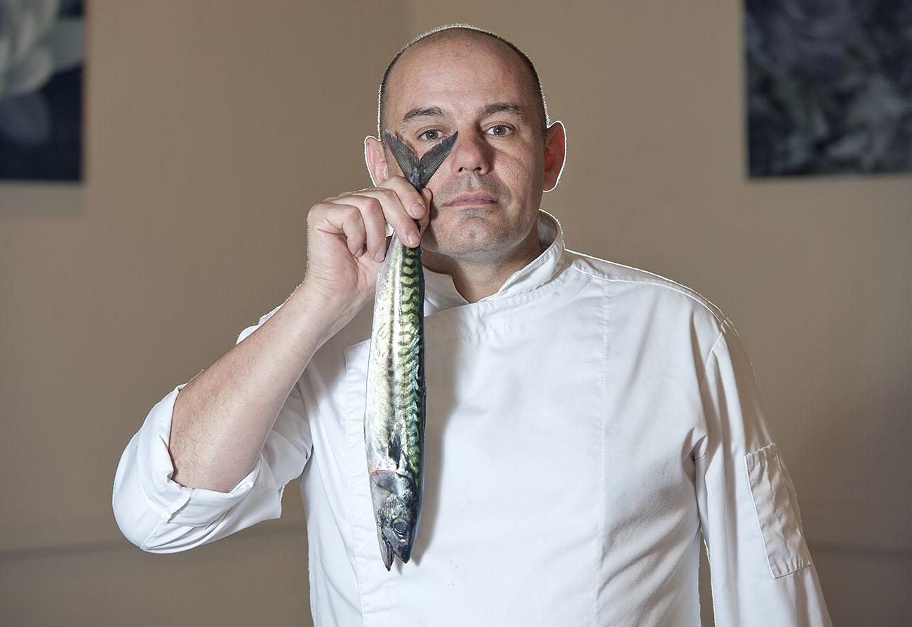 Restaurante La Galería-El Rodat (Nazario Cano) -Nazario Cano retrato-. Foto: Rafa Molina