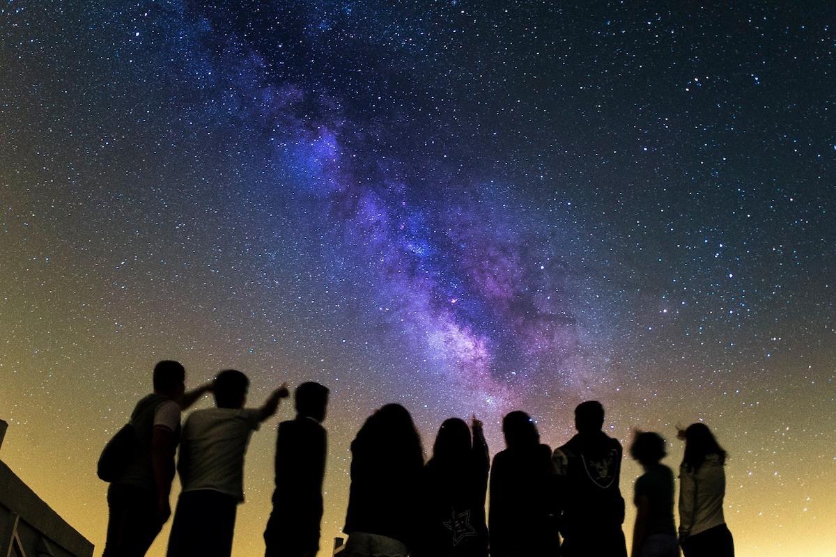 Estudiantes en el Instituto de Astrofísica de Canarias, en San Cristóbal de la Laguna, Tenerife. Foto: Facebook