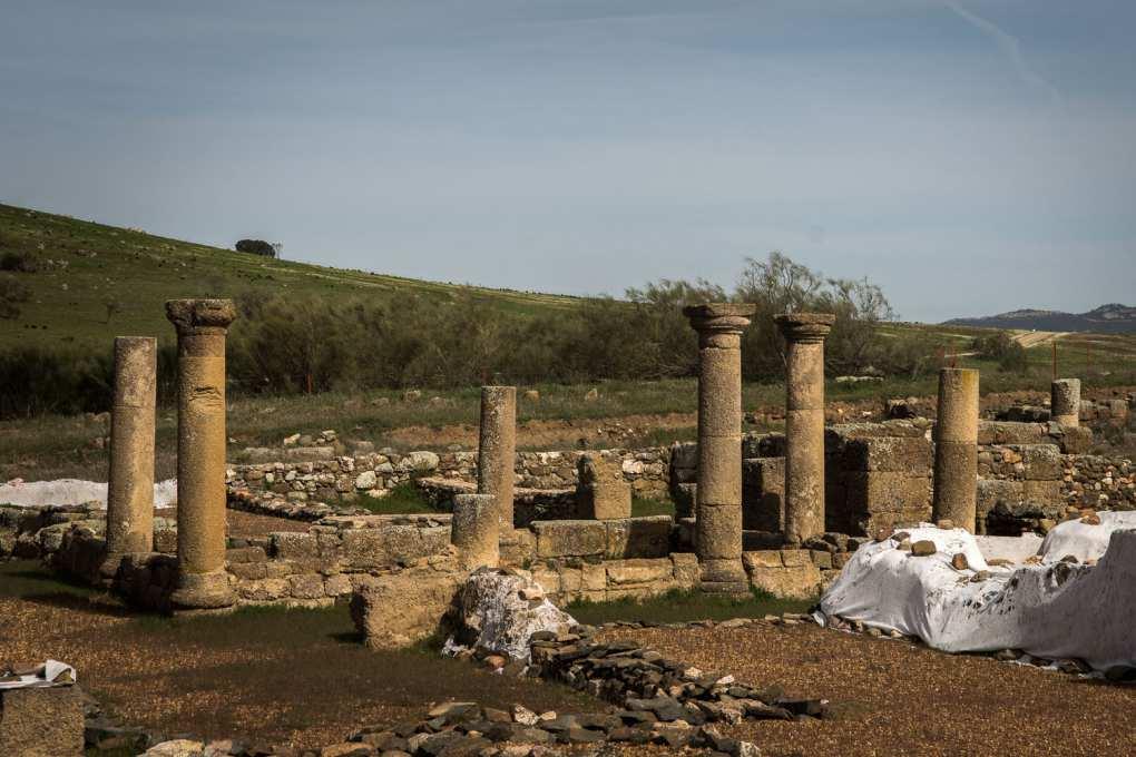 Las columnas romanas de Sisapo