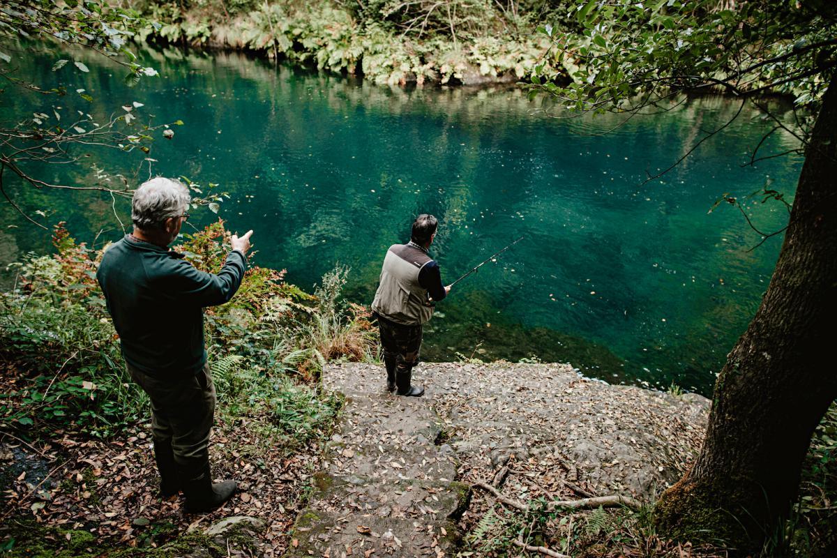 Fragas do Eume, pescadores