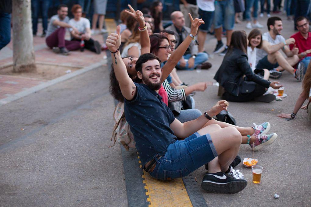 Festivaleros. Facebook Festival de los Sentidos