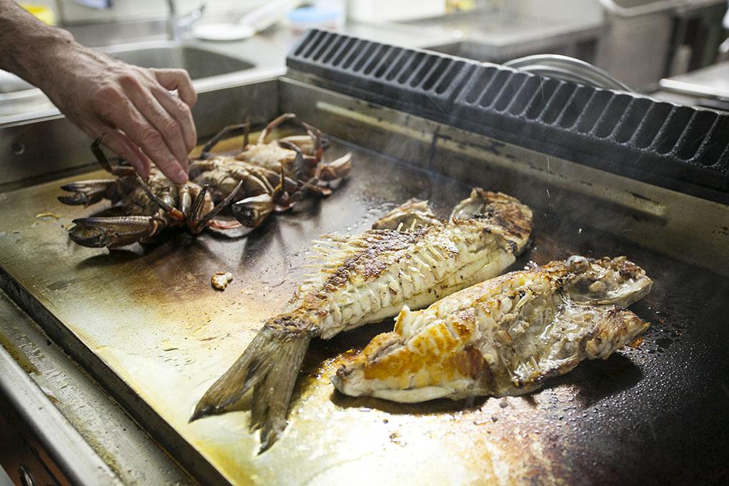Restaurante de San Vicente de la Barquera: Las Redes - pescado y marisco - Foto: José García
