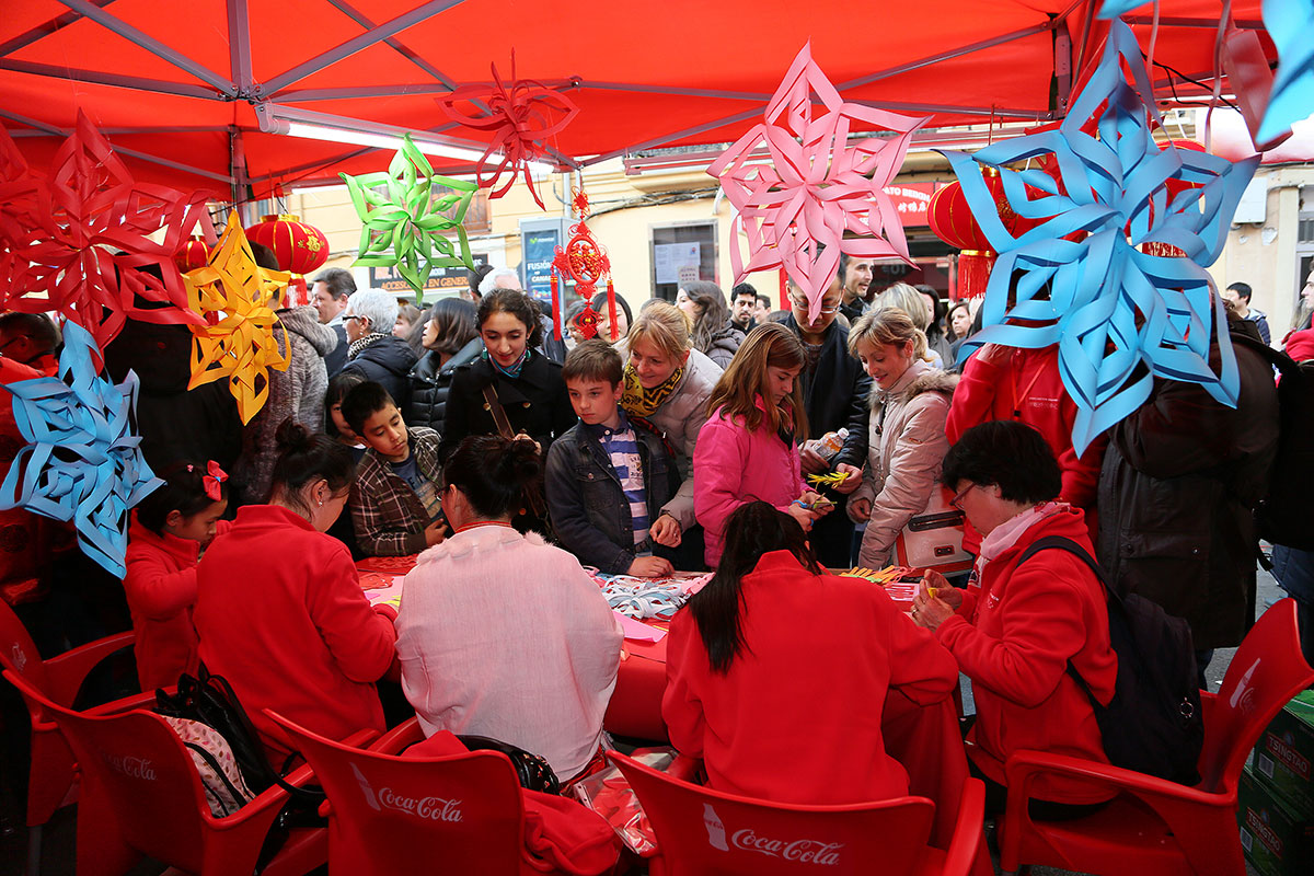 Celebración del Año Nuevo Chino, Valencia