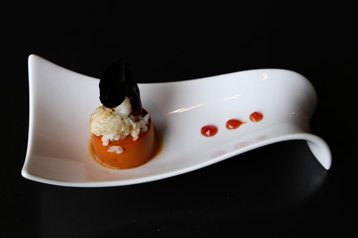 Un plato del Gaztelumendi Antxon. Foto: Ritxar Tolosa