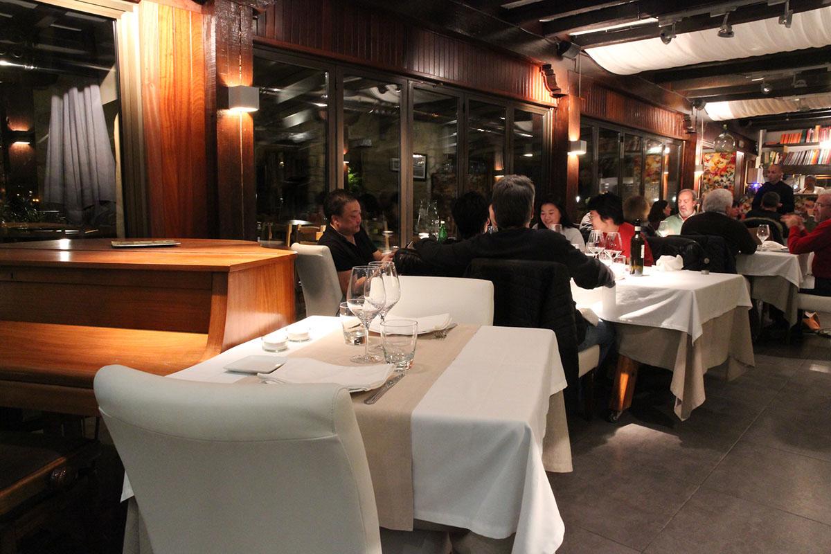 Restaurante Donosti - Zelai Txiki' (sala). Foto: Bixigarri