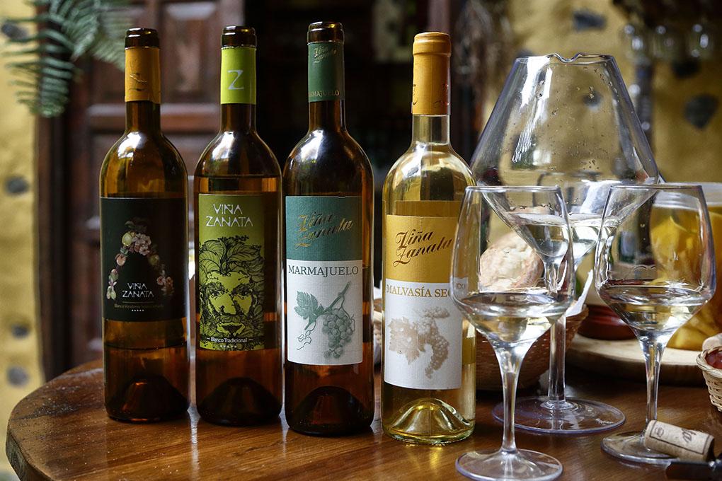 Vinos de Tenerife: Viña Zanata vinos. Foto: Roberto Ranero