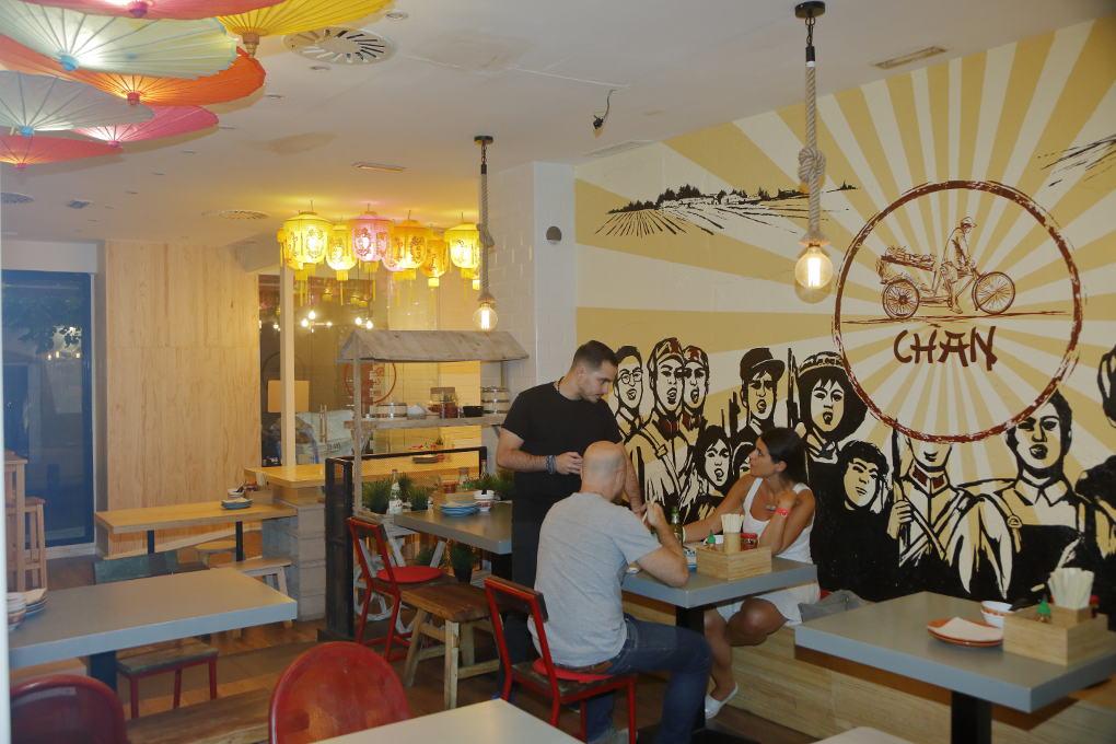 Interior del restaurante Chan Street