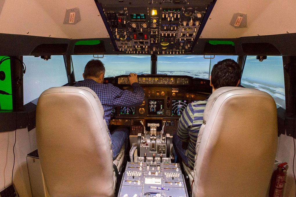 Simulador Aeroteca