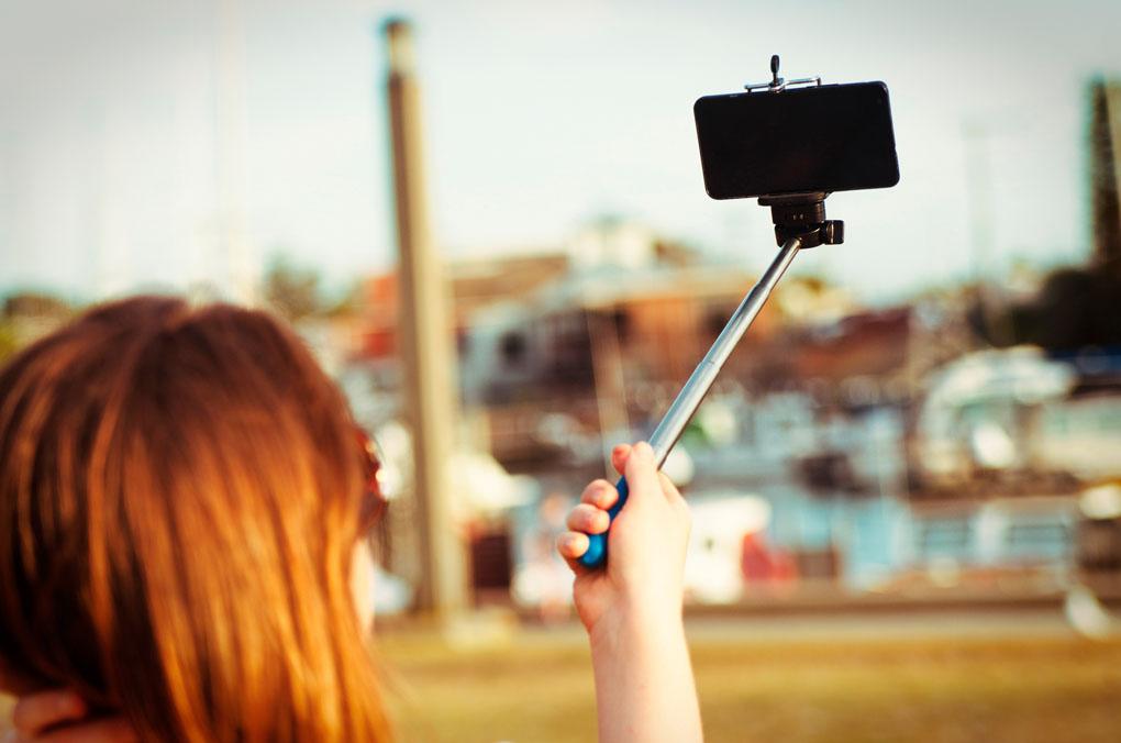 Palo de selfie