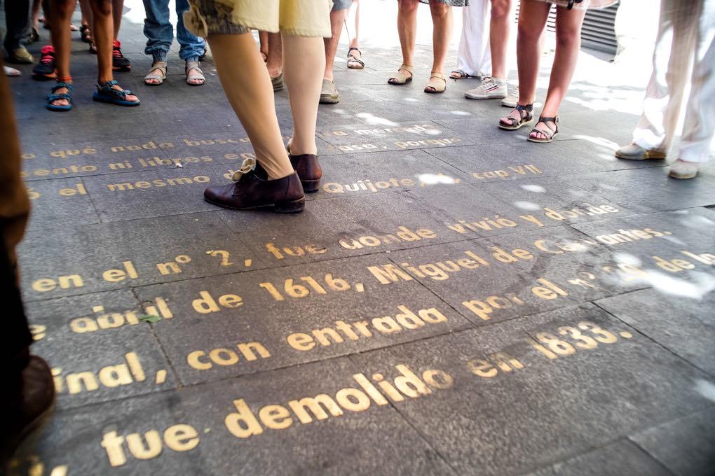 Rutas literarias, Madrid