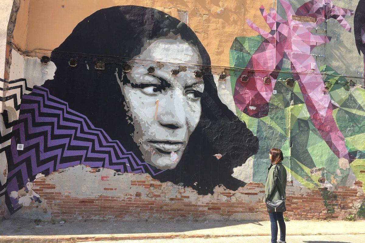 Graffiti BArcelona: 75 carrer de les escoles (Les Clots)