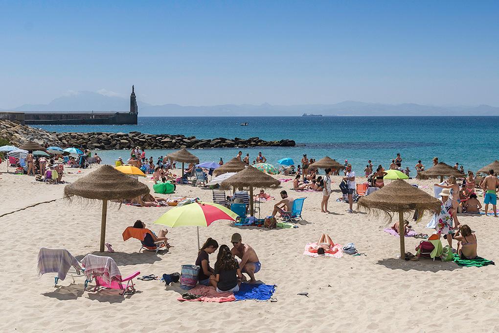 Playa Chica, una de las favoritas de los tarifeños. Foto: Stefan Schmidt