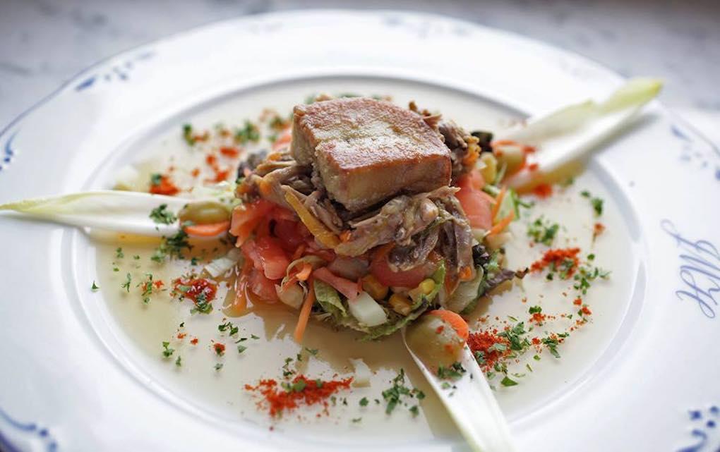 Cocina tradicional del restaurante Gurutze-Berri. Foto: Facebook