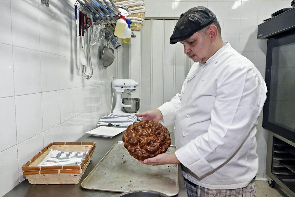 Propietario de Casabe Bakery. Foto: Roberto Ranero