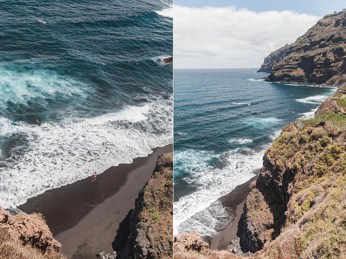 Playas de Tenerife: El Ancón (1) Foto: Yanira Quintero