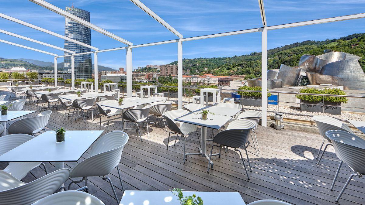 Terraza del Gran Hotel Domine. Foto: cedida