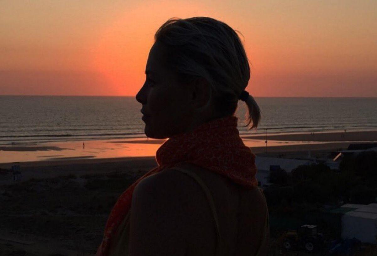 Soraya Arnelas en Conil de la Frontera (Cádiz). Foto cedida
