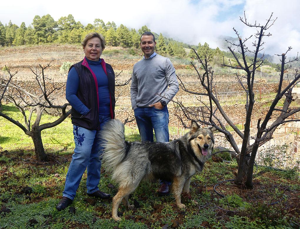 Vinos de Tenerife: Bodegas Ferrera Carmen Gloria y Juan Rubén. Foto: Roberto Ranero