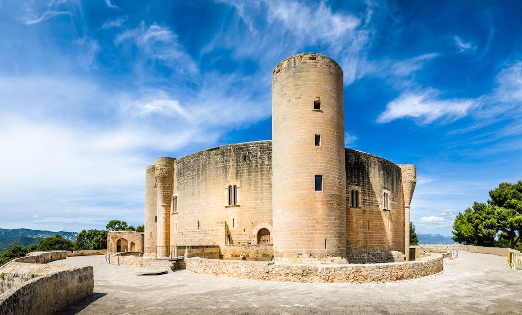 Castillo de Bellver. Foto: Shutterstock