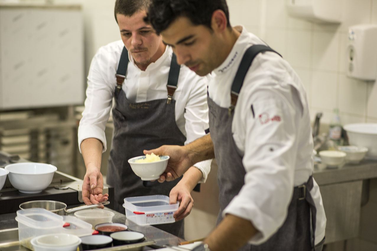Andreu Genestra en Gastronomika 2017. Foto: Alfredo Cáliz