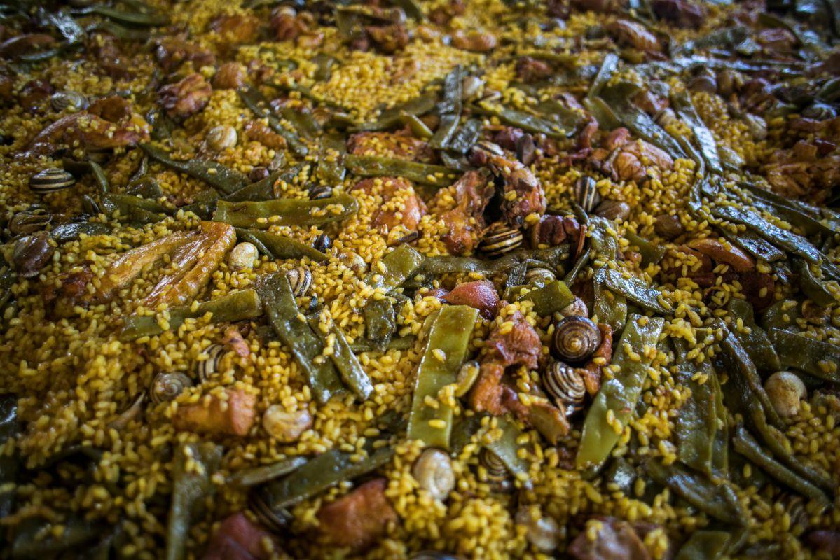 El arroz que se prepara en Finca Estell. Foto: Eva Máñez