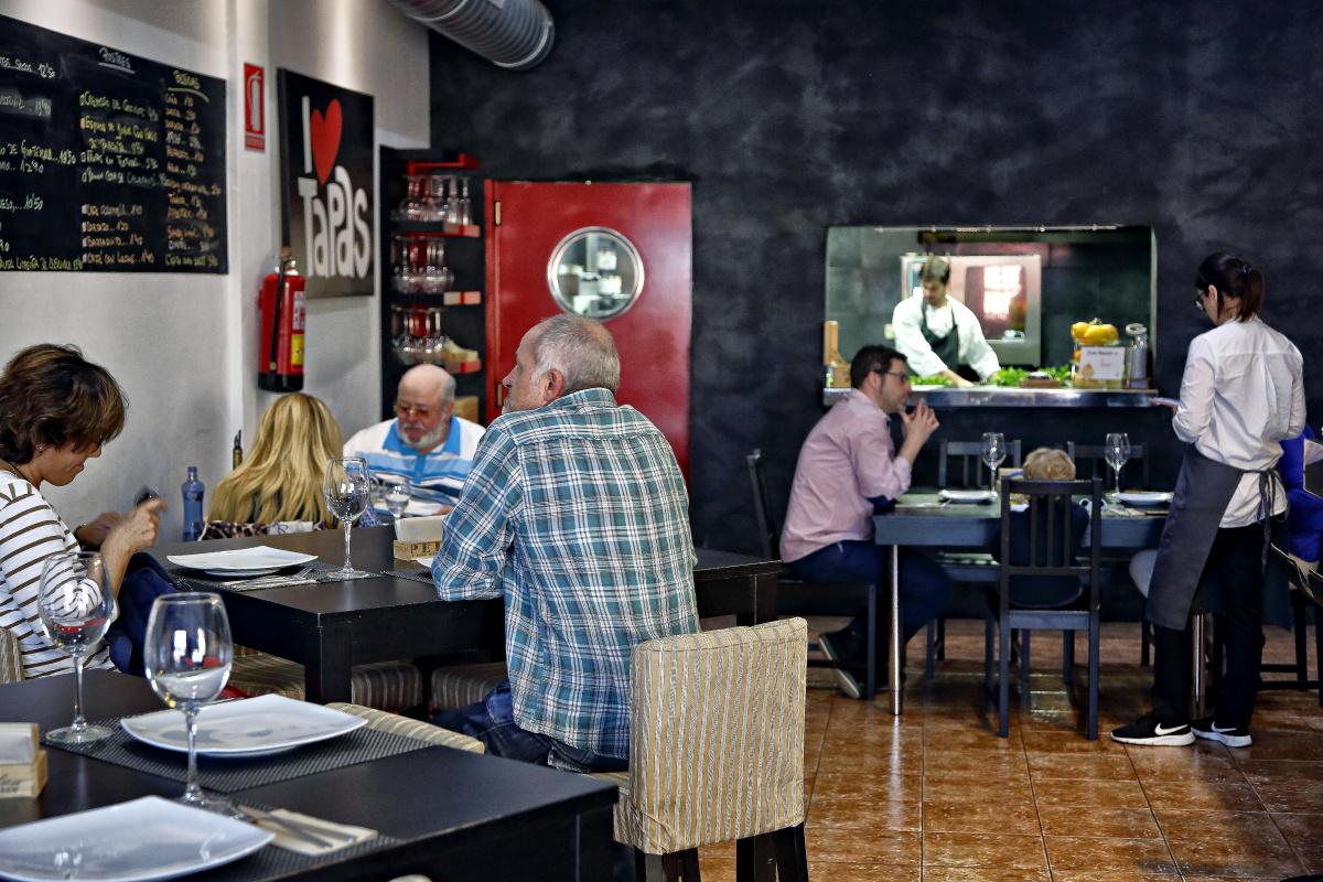 Restaurante AIE (El Sauzal). Sala. Foto: Roberto Ranero