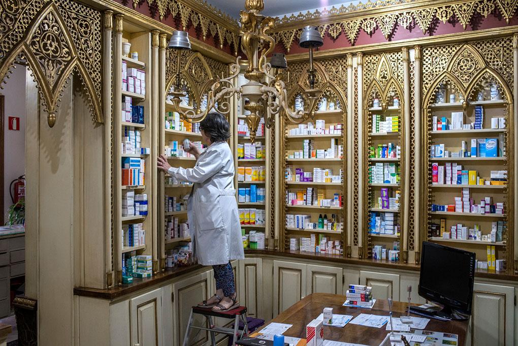 Farmacia Deleuze, rebotica