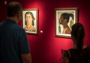 Exposición Guillermo de Osma. Fotos: Alfredo Cáliz