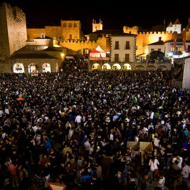 Womad, Cáceres. / CC Flickr Peter Johnen.