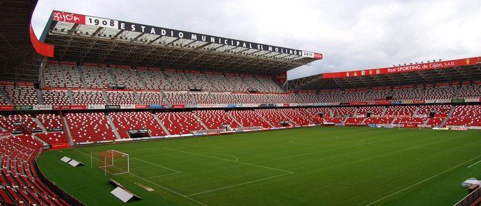 Espa a en 10 campos de f tbol en gu a repsol - Estadio del sporting de gijon ...