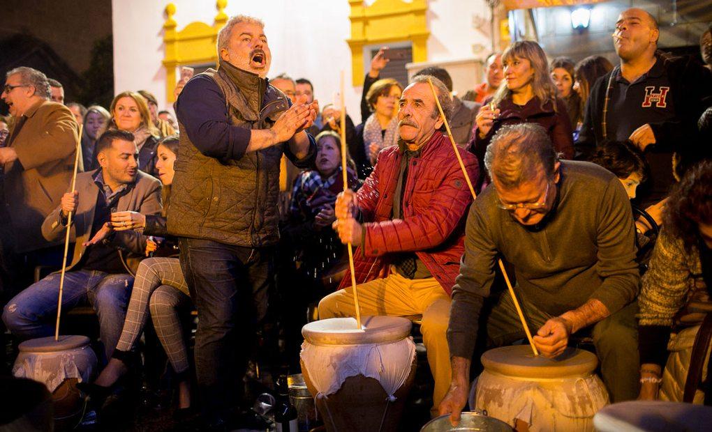 La Zambomba flamenca de Jerez de la Frontera. Fotos: Juan Carlos Toro