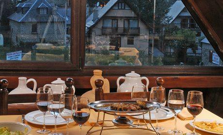 Restaurantes en estaciones de esquí