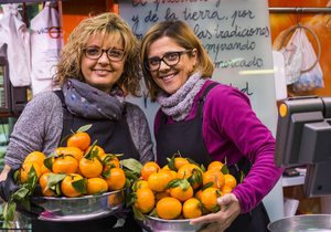 Mercado Central Valencia. Naranja Vicent y Eva. Fotos: Eva Mañez