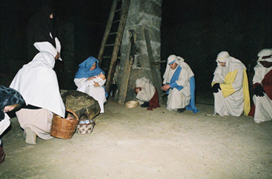 Belén Viviente en El Berrueco