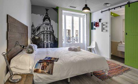 U-Hostels, lujo económico en Madrid