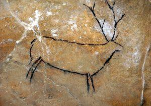 Arte rupestre en la Cueva de Las Chimeneas