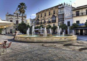 Plaza del Cabildo, Sanlúcar de Barrameda. / Cedida por: Ayuntamiento de Sanlúcar.
