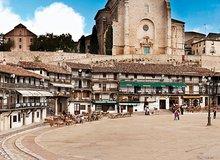 Casas balconadas de la Plaza Mayor de Chinchón