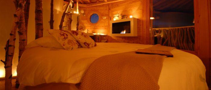 Interior de la Cabaña Suite Oooh!