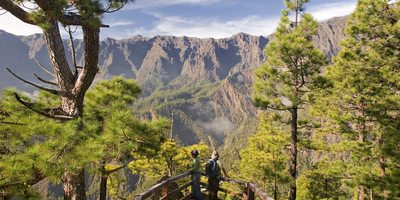 Mirador La Cumbrecita, La Palma. / Autor: Saúl Santos. / Cedida por: Patronato de Turismo de La Palma.