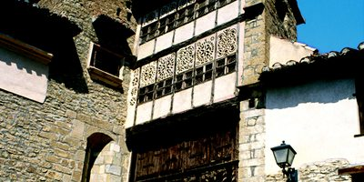 Portal de las Monjas, en Mirambel