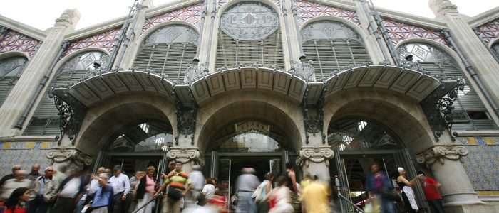 El Mercado Central, imponente obra modernista