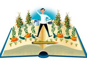 Ilustración cocineras escritoras. Autor: Pepe Medina