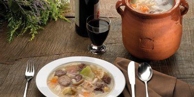 Olla aranesa, plato tradicional en la Vall d'Aran