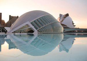 La Ciudad de las Artes y las Ciencias, un inmenso complejo de divulgación científica