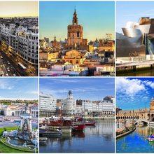 Collage ciudades Agenda Viva